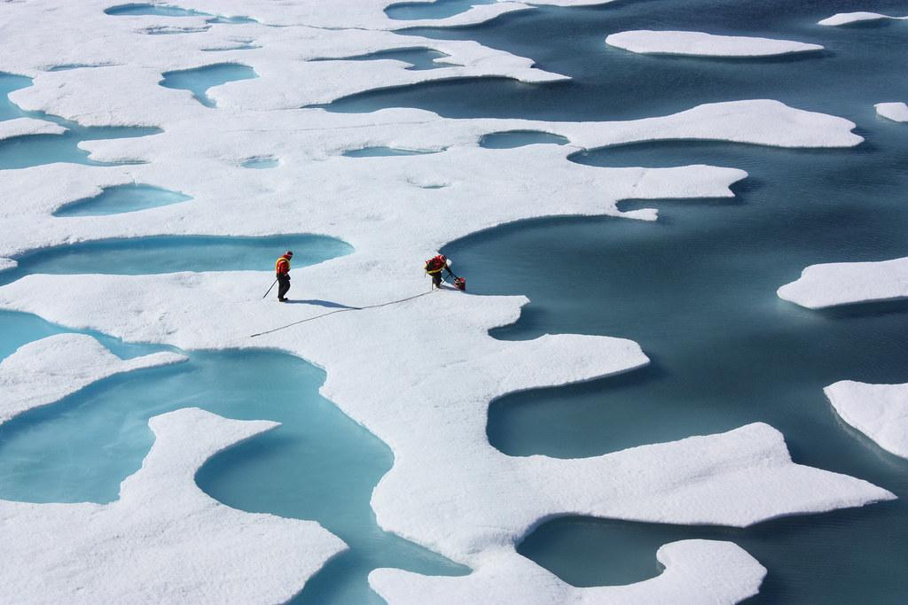 Arctic circle/NASA
