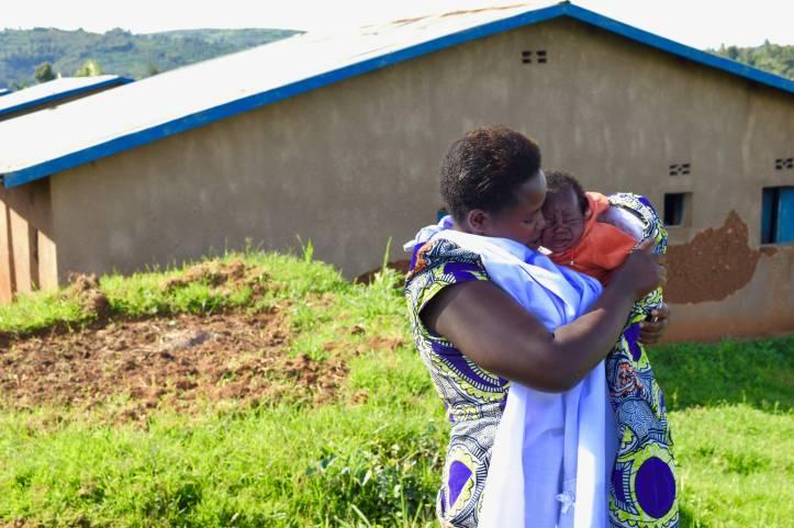 Solange Muhawenimana, President of the Kabeza Village Cooperativ
